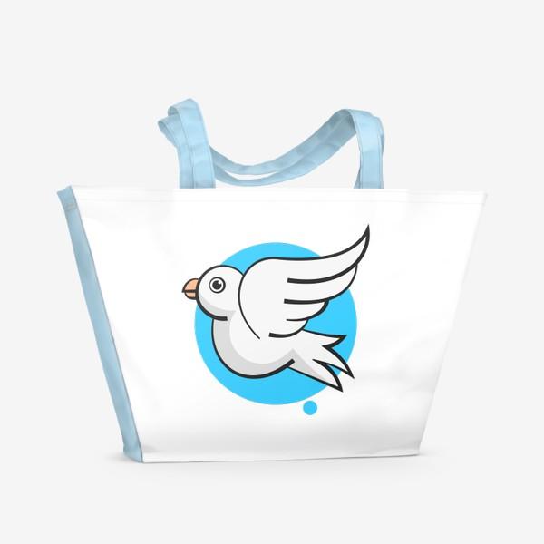 Пляжная сумка «Векторная иллюстрация»
