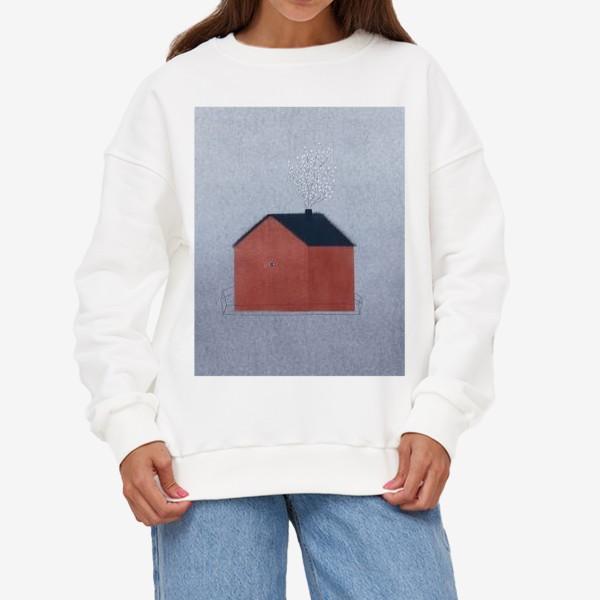 Свитшот «Дом с вербой»