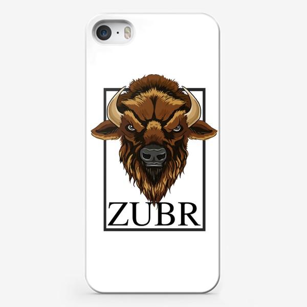 Чехол iPhone «Зубр»