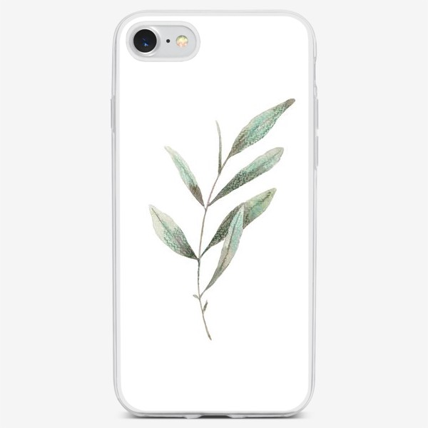 Чехол iPhone «Оливковая ветка»