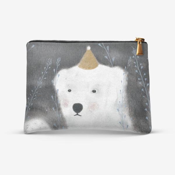 Косметичка «Медведь и одуванчик»