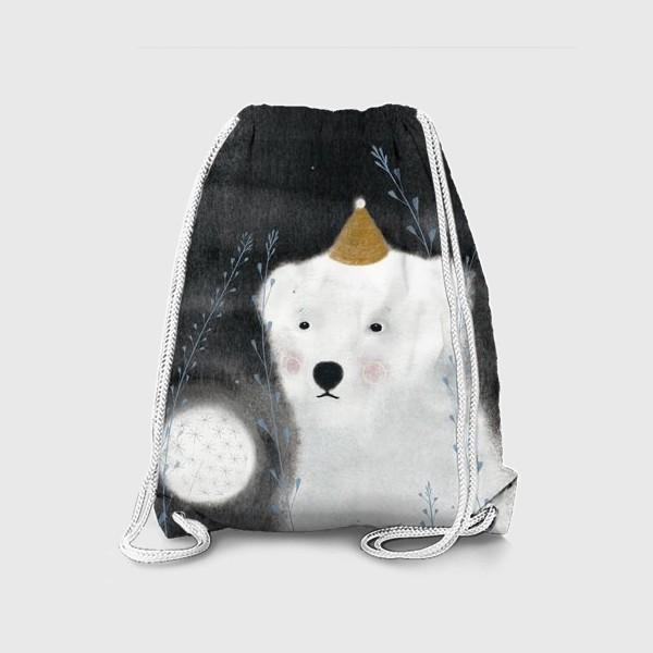 Рюкзак «Медведь и одуванчик»