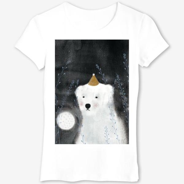 Футболка «Медведь и одуванчик»