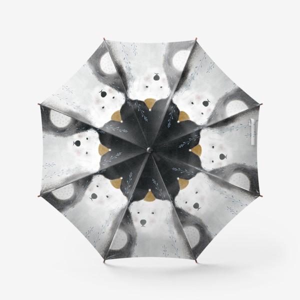 Зонт «Медведь и одуванчик»