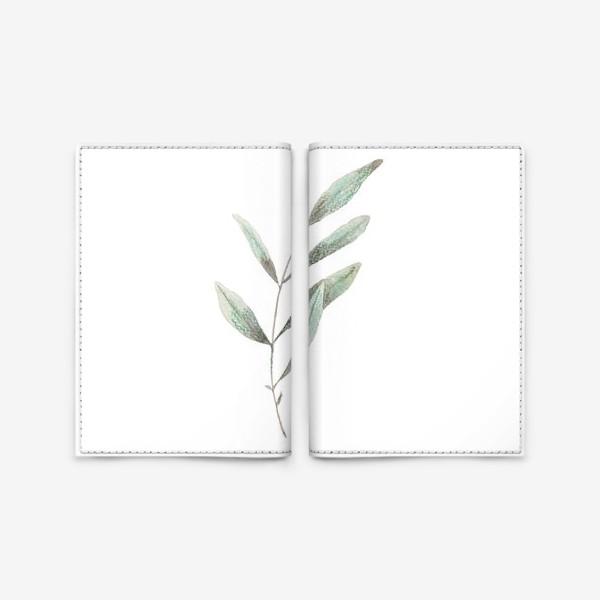 Обложка для паспорта «Оливковая ветка»
