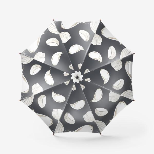 Зонт «Чеснок. Паттерн»