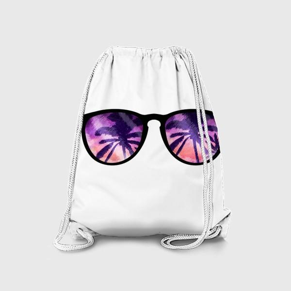 Рюкзак «Лето. Солнечные очки. Пальмы»