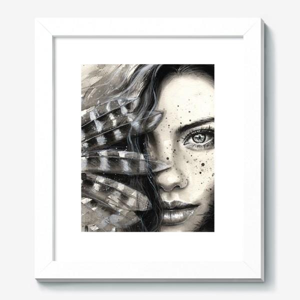 Картина «'FRECKLY' - Девушка с веснушками »
