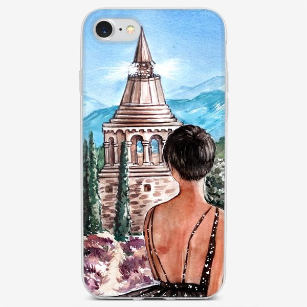 Чехол iPhone «прованс»