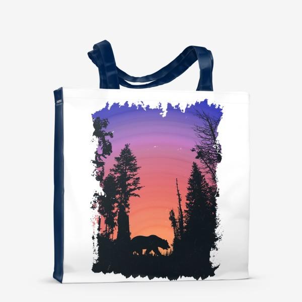Сумка-шоппер «Dark Forest»