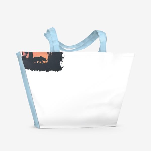 Пляжная сумка «Dark Forest»