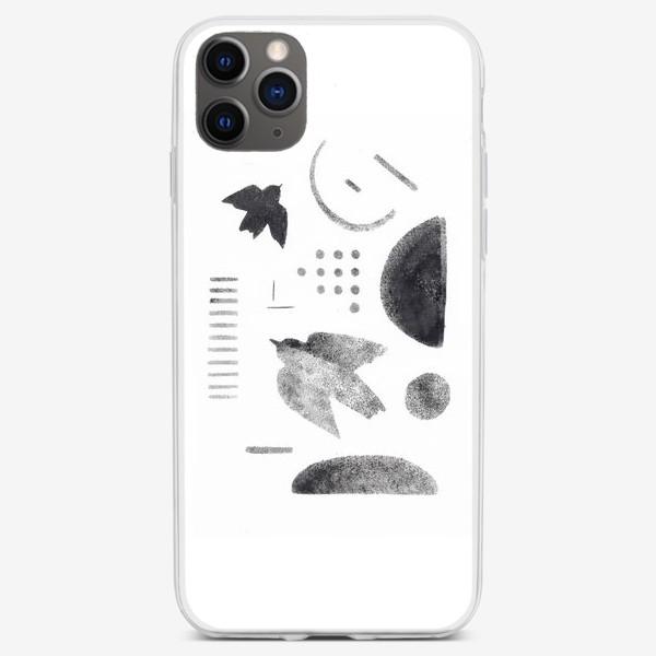 Чехол iPhone «Абстракцияи птицы»