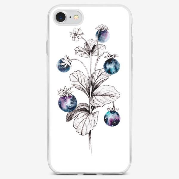Чехол iPhone «Ягоды космос»