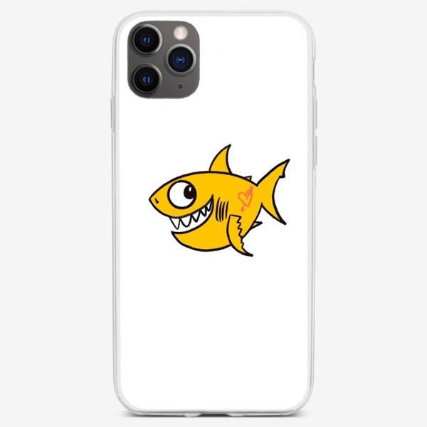 Чехол iPhone «Акула»