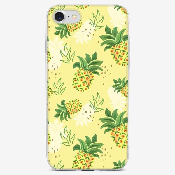 Чехол iPhone «Ананасовая пустыня»