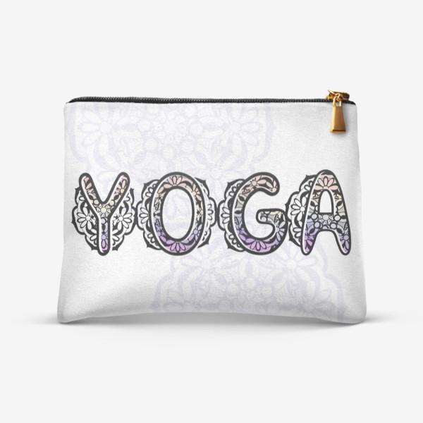 Косметичка «Йога. Мандала »