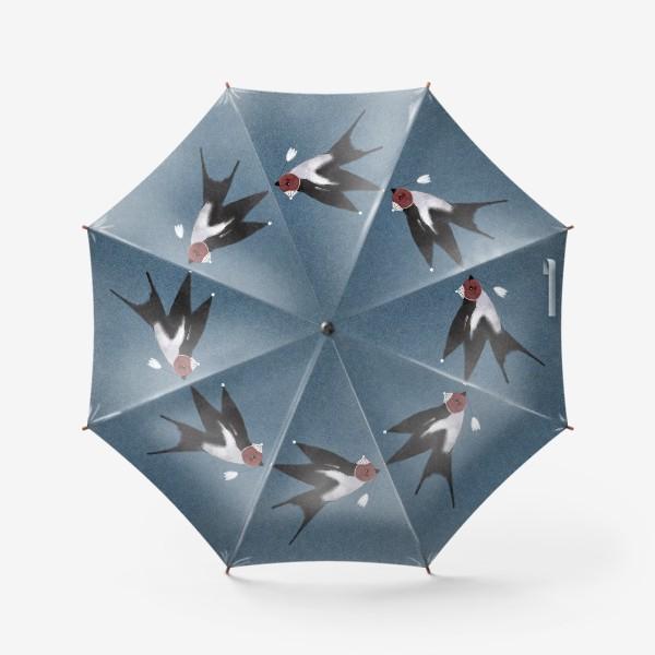Зонт «Ласточка с весточкой»