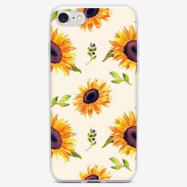 Чехол iPhone «Подсолнухи»