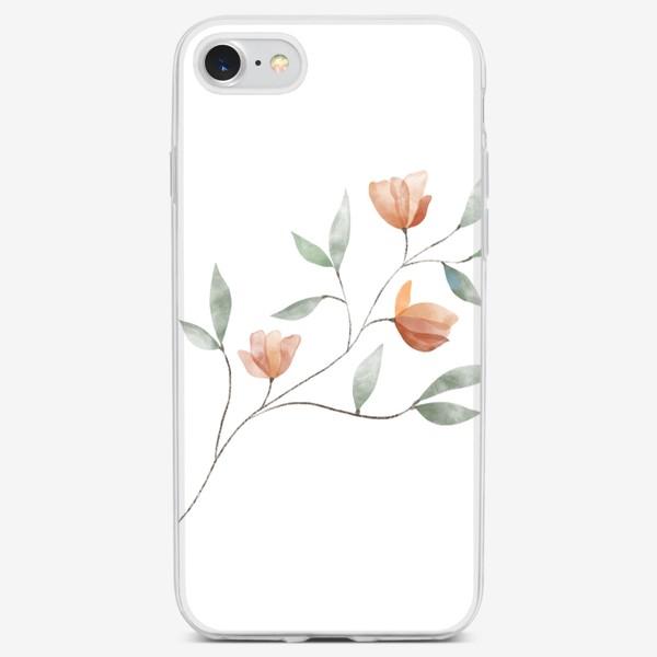 Чехол iPhone «Ботаническая иллюстрация №3»