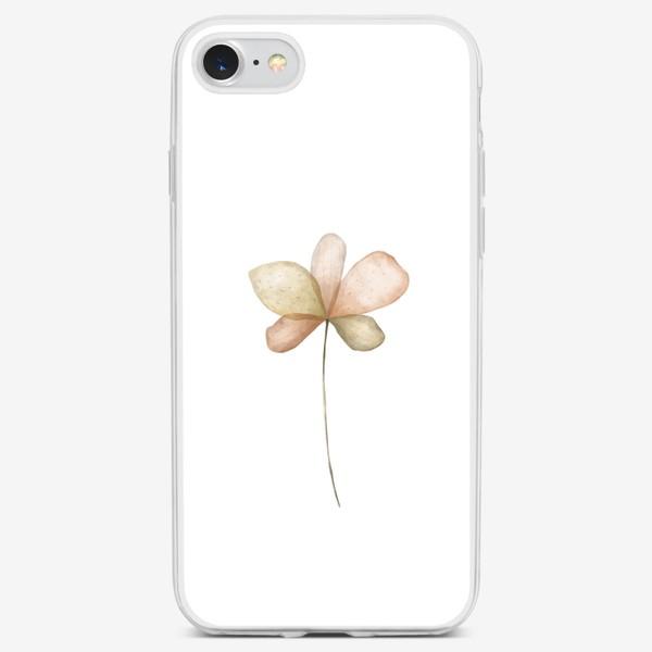Чехол iPhone «Ботаническая иллюстрация №4»