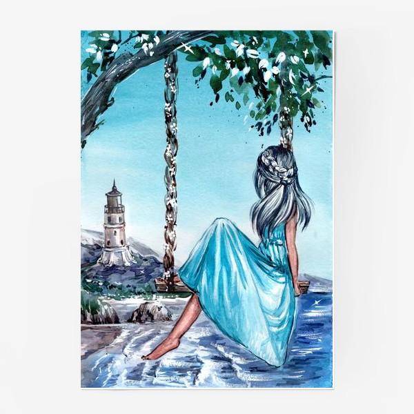 Постер «беззаботное время»