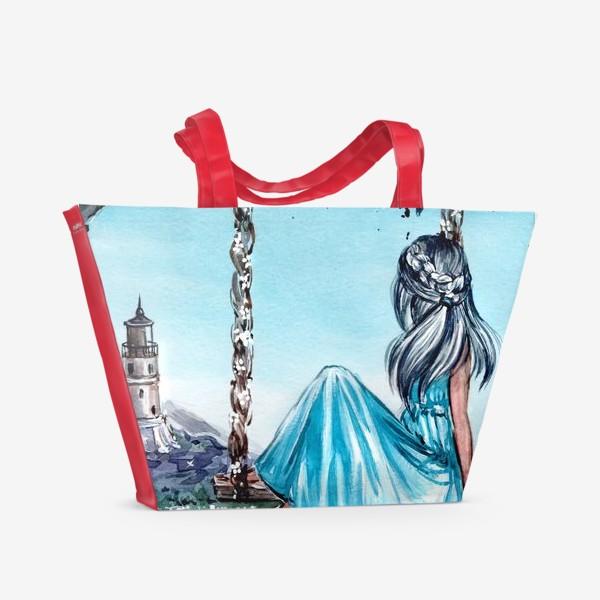 Пляжная сумка «беззаботное время»