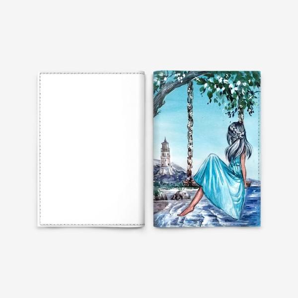 Обложка для паспорта «беззаботное время»