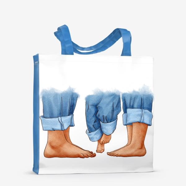 Сумка-шоппер «Ноги, семья»