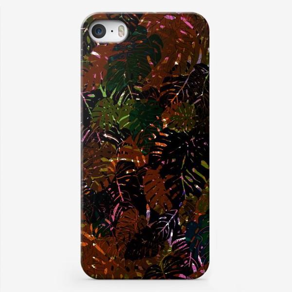 Чехол iPhone «В зарослях Монстеры»