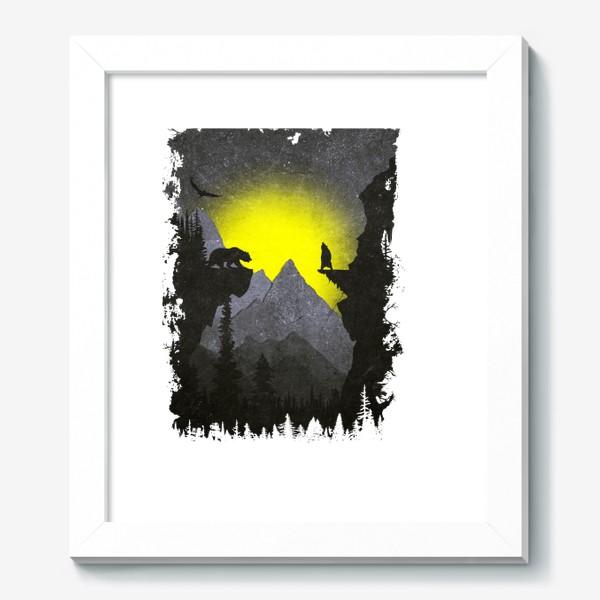 Картина «Bears and Owl»