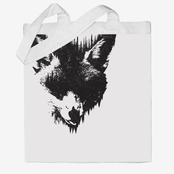 Сумка хб «Forest Fox»