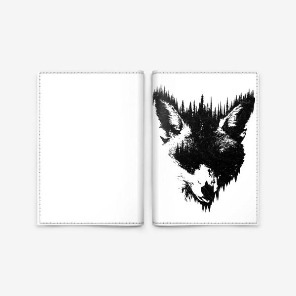 Обложка для паспорта «Forest Fox»