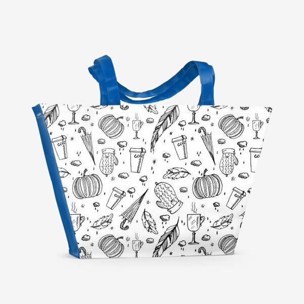 Пляжная сумка «Осенний #1»