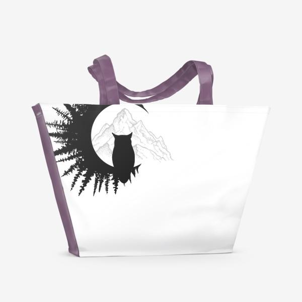 Пляжная сумка «Forest Owl»