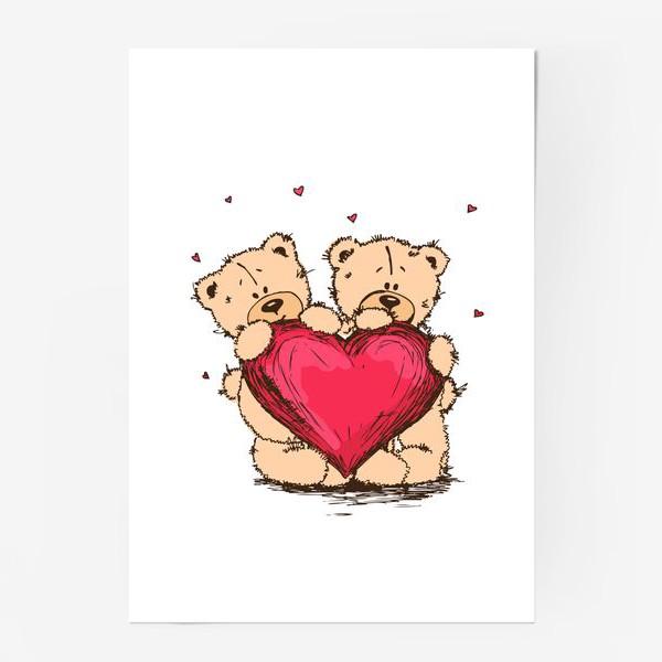 Постер «Мишкина Любовь»