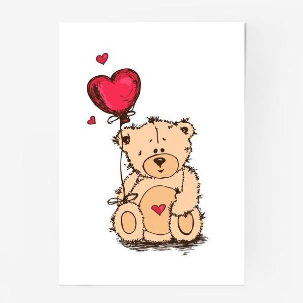 Постер «Влюбленный Плюшевый Миша»