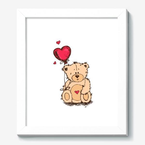 Картина «Влюбленный Плюшевый Миша»