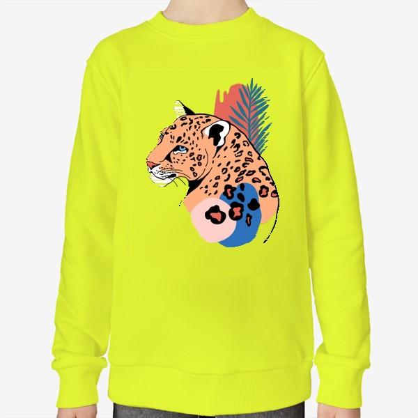 Свитшот «Леопард»
