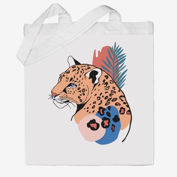 Сумка хб «Леопард»