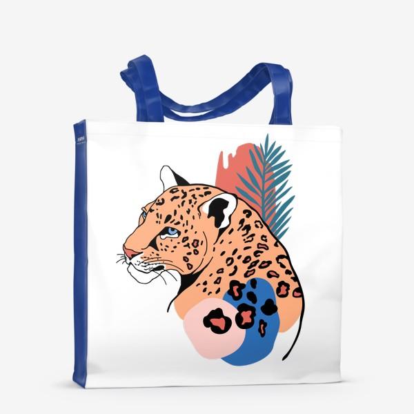 Сумка-шоппер «Леопард»