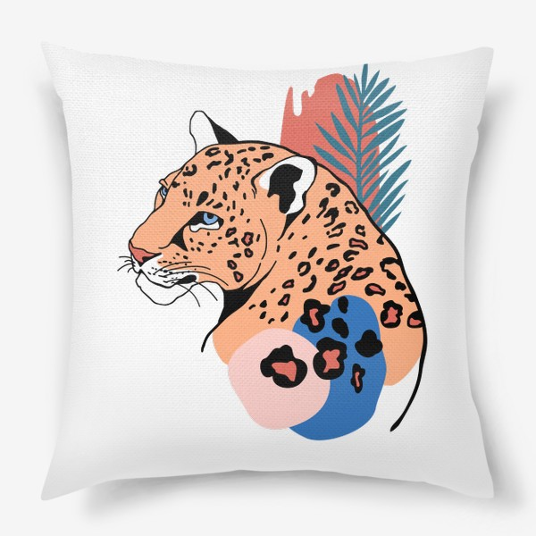 Подушка «Леопард»