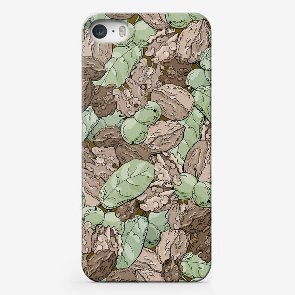 Чехол iPhone «Ореховый камуфляж»