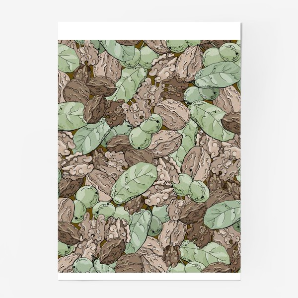 Постер «Ореховый камуфляж»