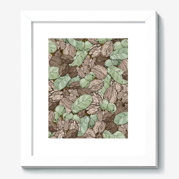 Картина «Ореховый камуфляж»