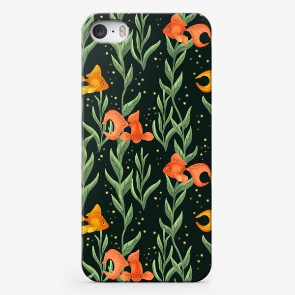 Чехол iPhone «Золотые рыбки»