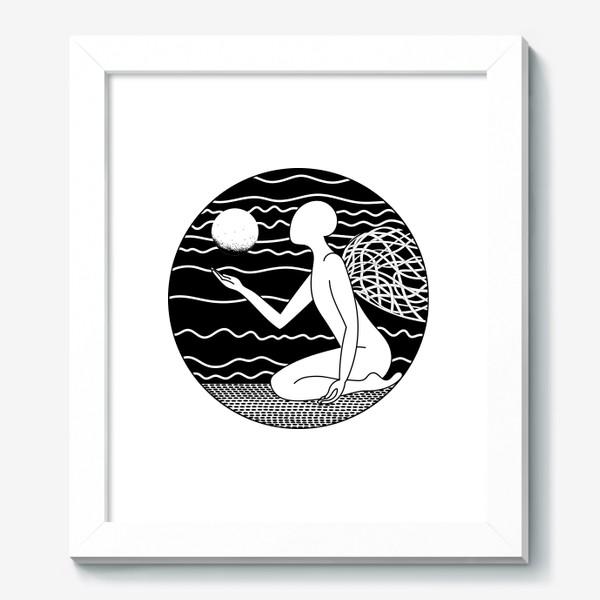 Картина «Луна и ангел»