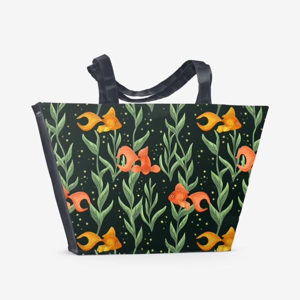 Пляжная сумка «Золотые рыбки»