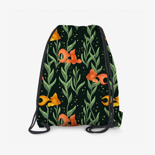 Рюкзак «Золотые рыбки»