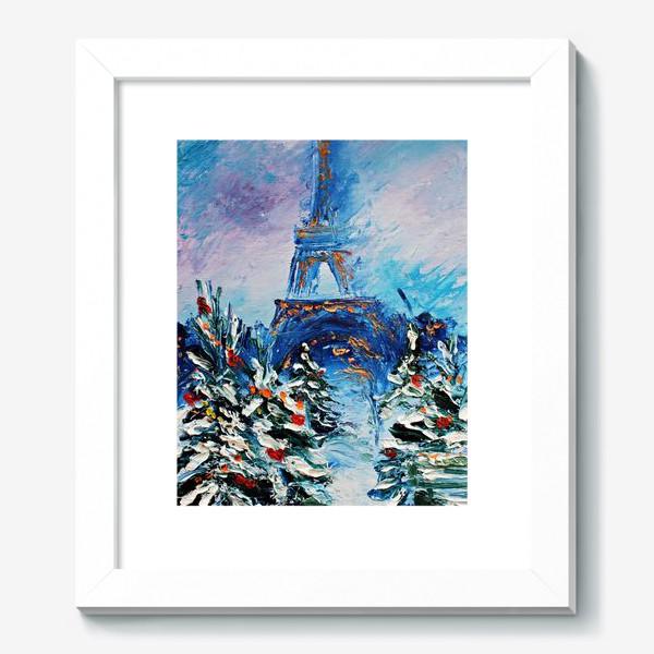 Картина «Новогодний Париж»