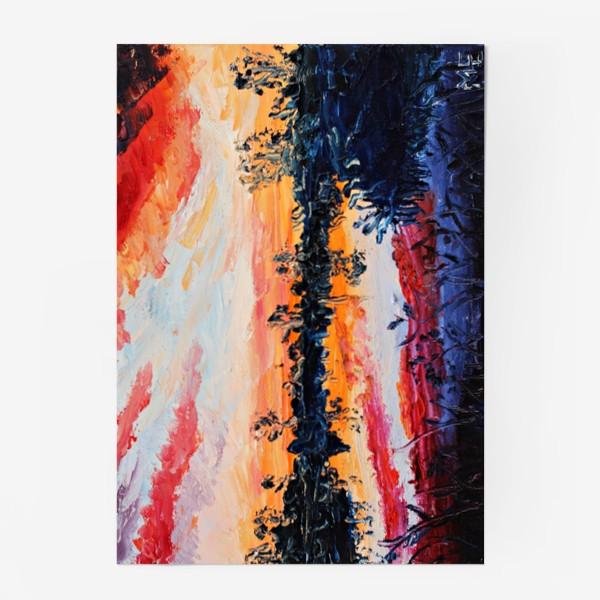 Постер «Закатное небо»